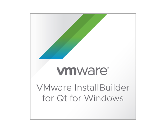 VMware InstallBuilder for Qt for Windows